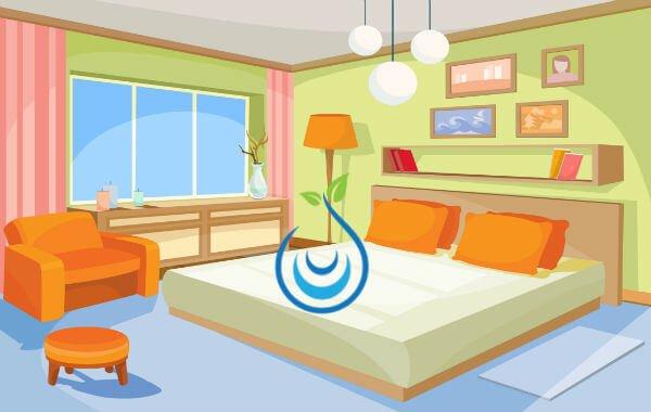 طريقة ترتيب غرف النوم, ترتيب غرف النوم